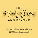 FREE- Body Shapes Workbook