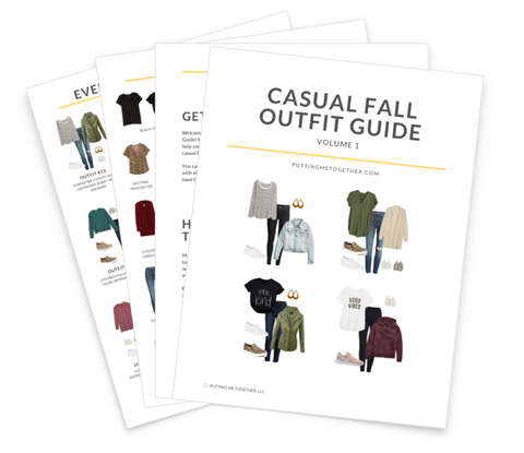 Fall Casual Outfit Guide for Stay at Home Life & Weekends