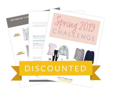 Spring 2019 Challenge: Outfit Guide