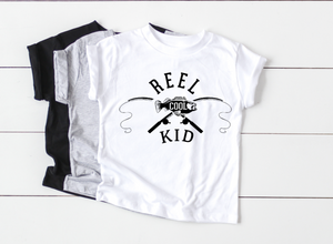 reel cool kid fishing shirt