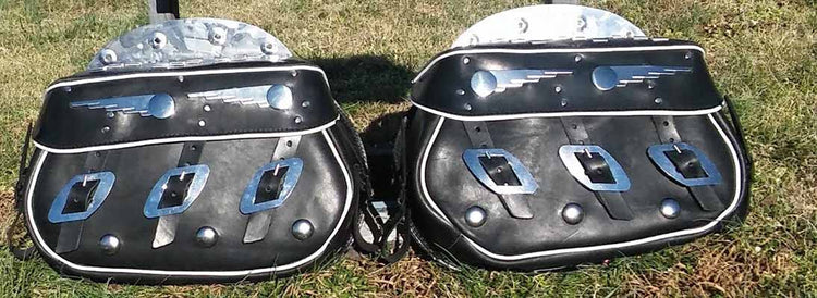 Speedball Saddlebags