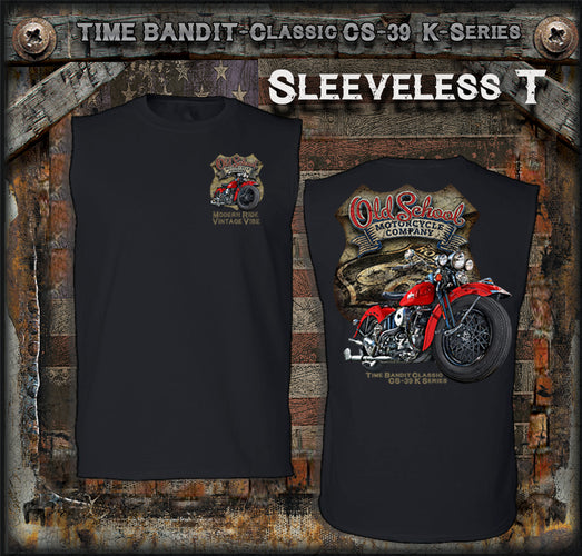 OSMC Time Bandit Classic CS-39K Series Sleeveless T-Shirt