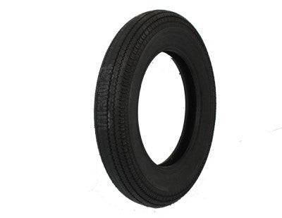 Replica front or rear black wall tire  5.00 x 16""
