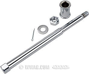 Front axle kit for Star hub - Stock with caged bearings
