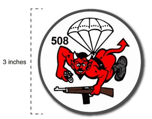 "1-508 3 inch ""DEVIL"" Patch"