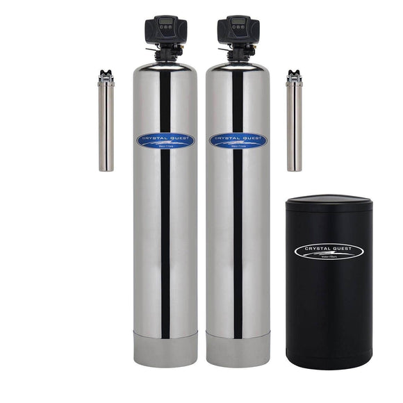 Crystal Quest Iron, Manganese, and Hydrogen Sulfide Whole House Water Filters