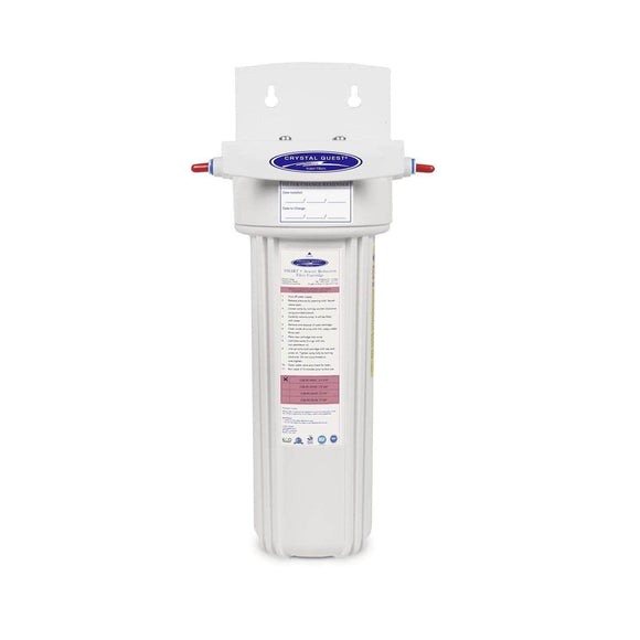 Crystal Quest Arsenic Removal + SMART Refrigerator / In-line Water Filter System Crystal Quest