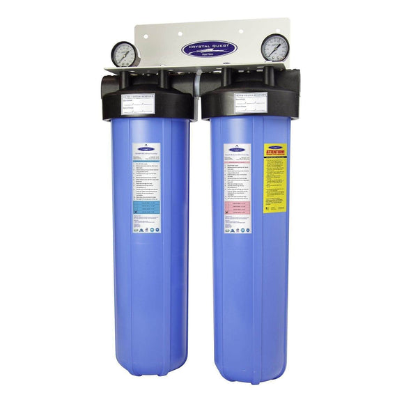 Crystal Quest Big Blue Arsenic Whole House Water Filters