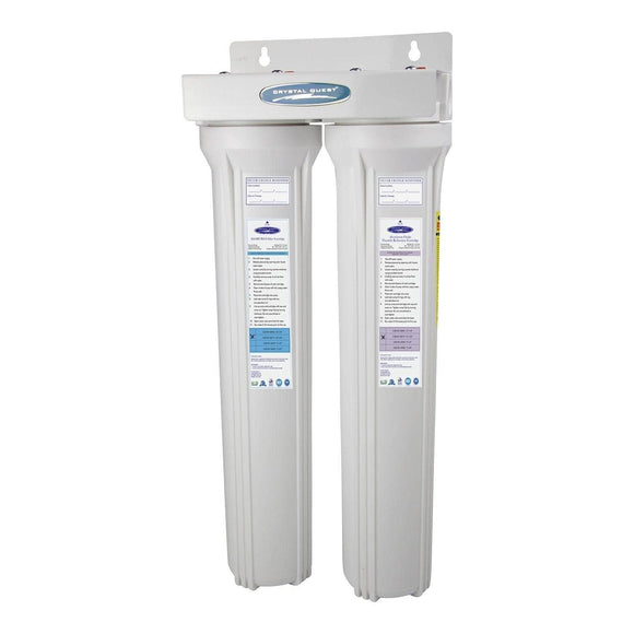 Crystal Quest Slimline Fluoride Whole House Water Filters