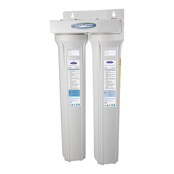 Crystal Quest SMART Whole House Water Filters - Slimline 1