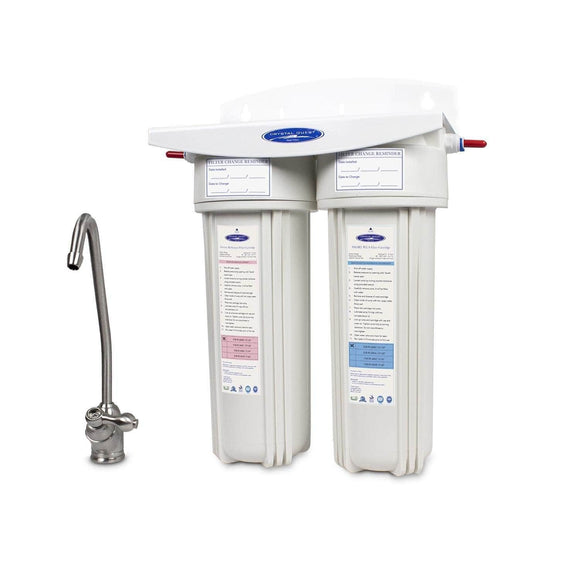 Crystal Quest Arsenic Under Sink Water Filter