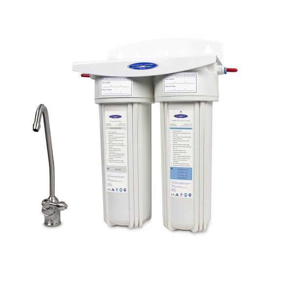Crystal Quest Ceramic Under Sink Water Filter Crystal Quest