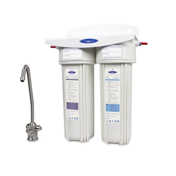 Crystal Quest Fluoride Under Sink Water Filter Crystal Quest