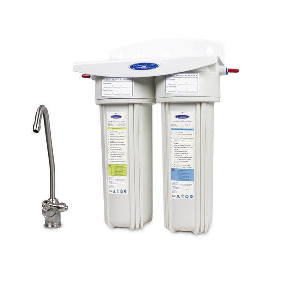 Crystal Quest Lead Under Sink Water Filter