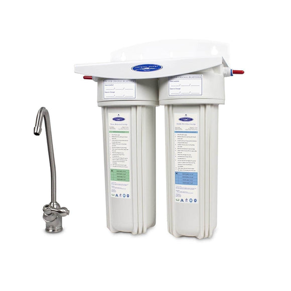 Crystal Quest Nitrate Under Sink Water Filter