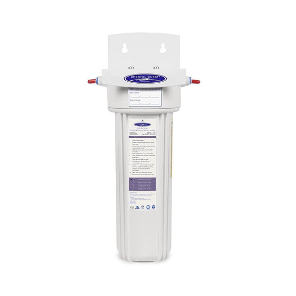 Crystal Quest Fluoride Removal Refrigerator / In-line Water Filter System Crystal Quest