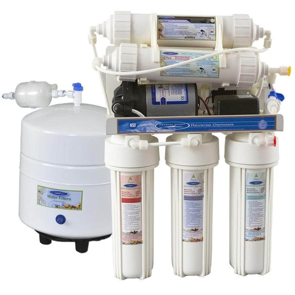 Crystal Quest Reverse Osmosis Under Sink Water Filter - 2000MP Crystal Quest