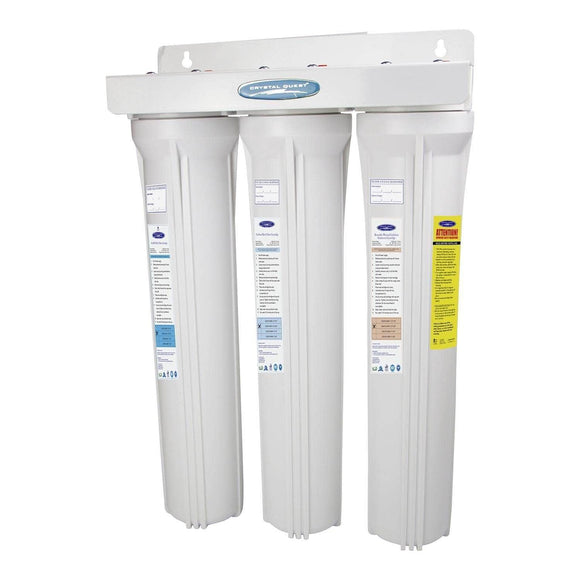 Crystal Quest SMART Slimline Whole House Water Filters - CQE-WH-01103C, Residential - Whole House | Water Filters To Go
