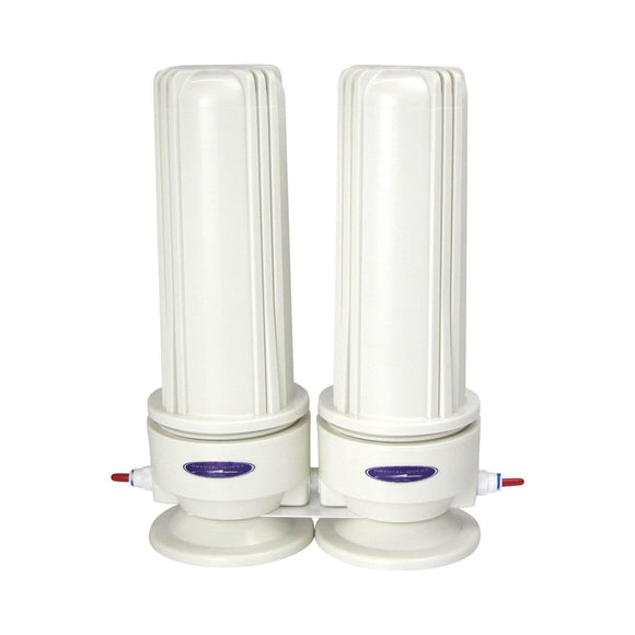 Crystal Quest Voyager Double Inline Water Filter System Crystal Quest
