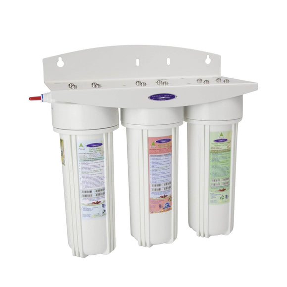 Crystal Quest Voyager Triple Inline Water Filter System Crystal Quest