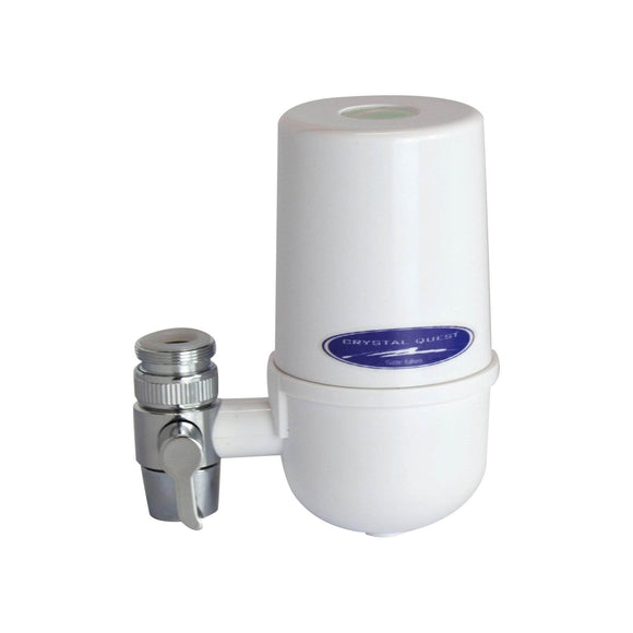 Crystal Quest Faucet Mount Water Filter System Crystal Quest