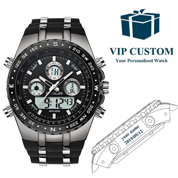 big face wrist watch for men