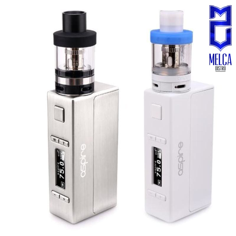 Aspire Evo 75 Kit Stainless Steel - Kits