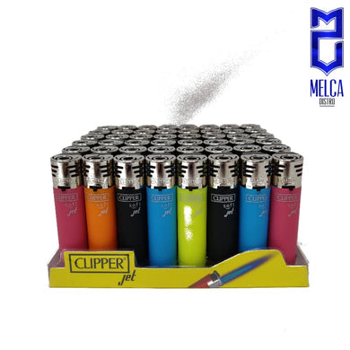 Clipper Lighter Jet Flame Soft Colors 48 Units - Lighters