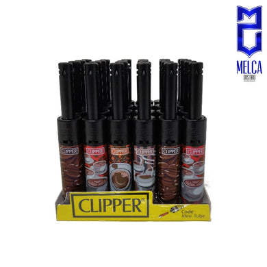 Clipper Lighter Minitube Coffee 24 Units - Lighters