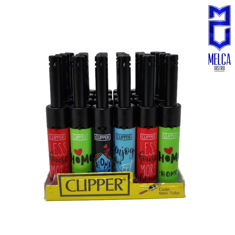 Clipper Lighter Minitube Sweet Home 24 Units - Lighters