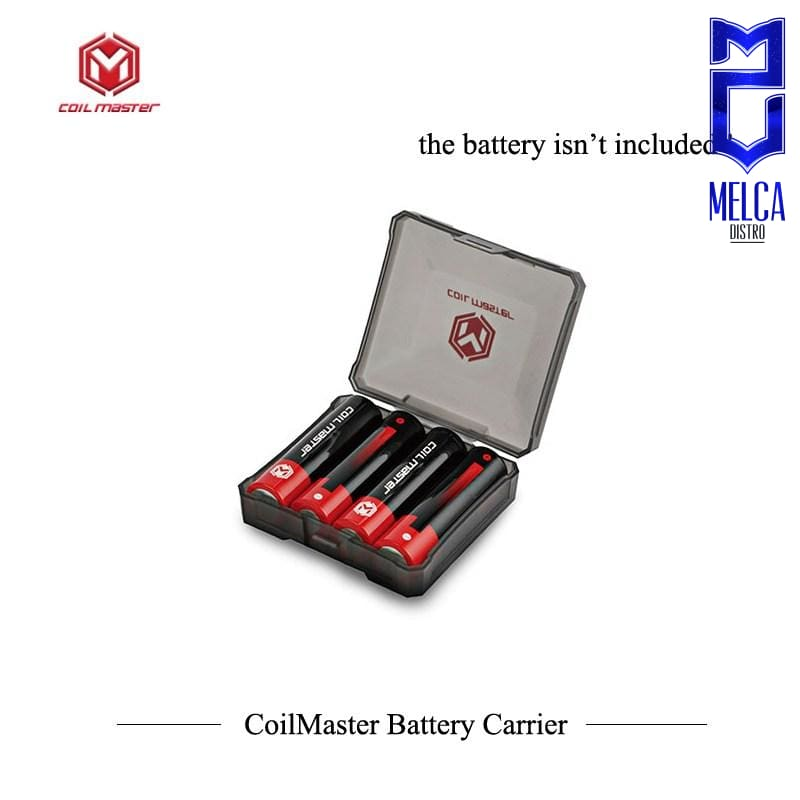 Coil Master B4 18650 Battery Case - Tool Kit