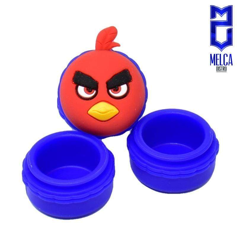 Wax Container Angry Bird 10ml - Blue 10ml - WAX CONTAINERS