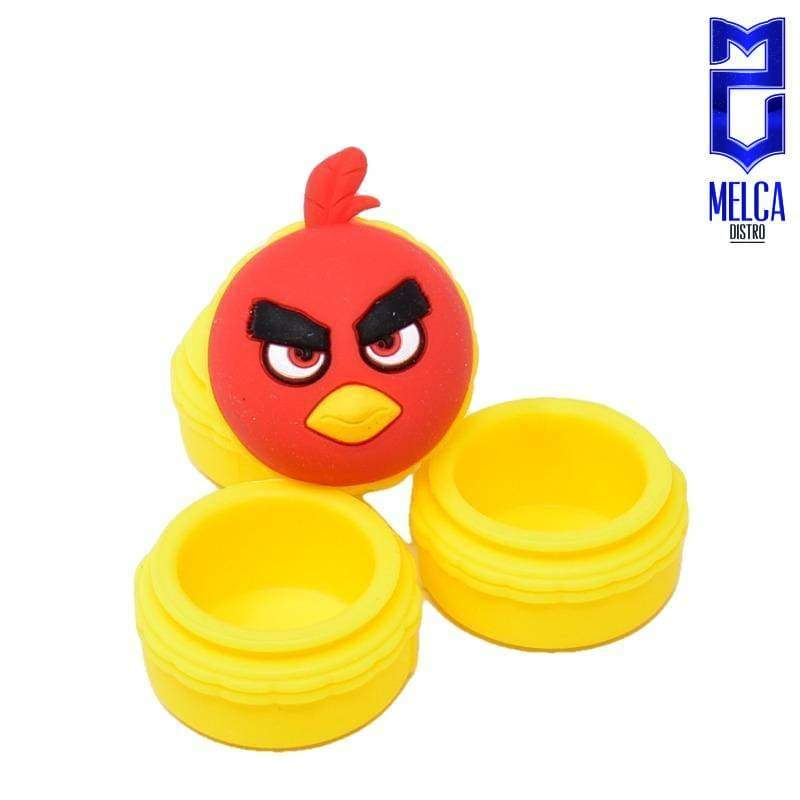 Wax Container Angry Bird 10ml - Yellow 10ml - WAX CONTAINERS