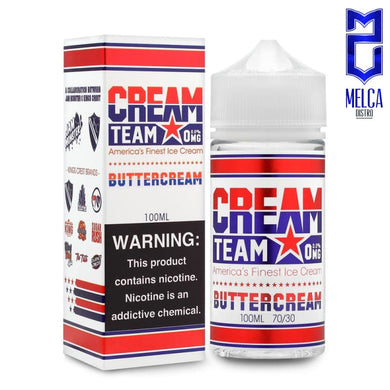 Cream Team Buttercream 100ml - E-Liquids