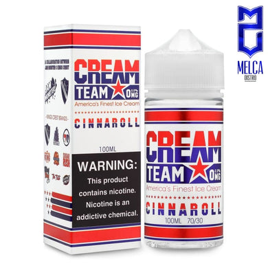 Cream Team Cinaroll 100ml - E-Liquids
