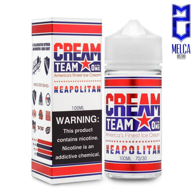 Cream Team Neapolitan 100ml - E-Liquids
