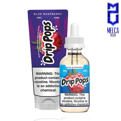 Drip Pops Blue Raspberry 60ml - E-Liquids