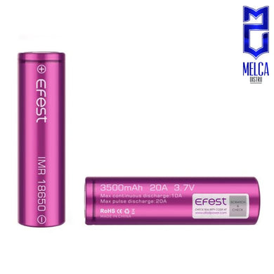 Efest Battery 18650 3500mAh 20A - Batteries