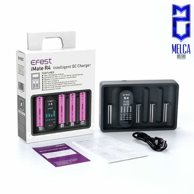 Efest iMate R4 Black - Chargers