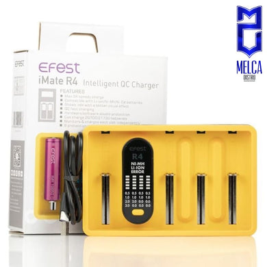 Efest iMate R4 Yellow - Chargers