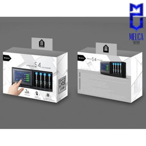 Eizfan Lux S4 Touch Screen LCD Battery Charger - Chargers