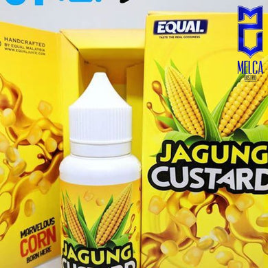 Equal Jagung Custard 60ml - E-Liquids