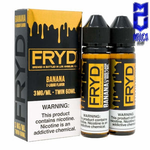FRYD Banana 60ml - E-Liquids