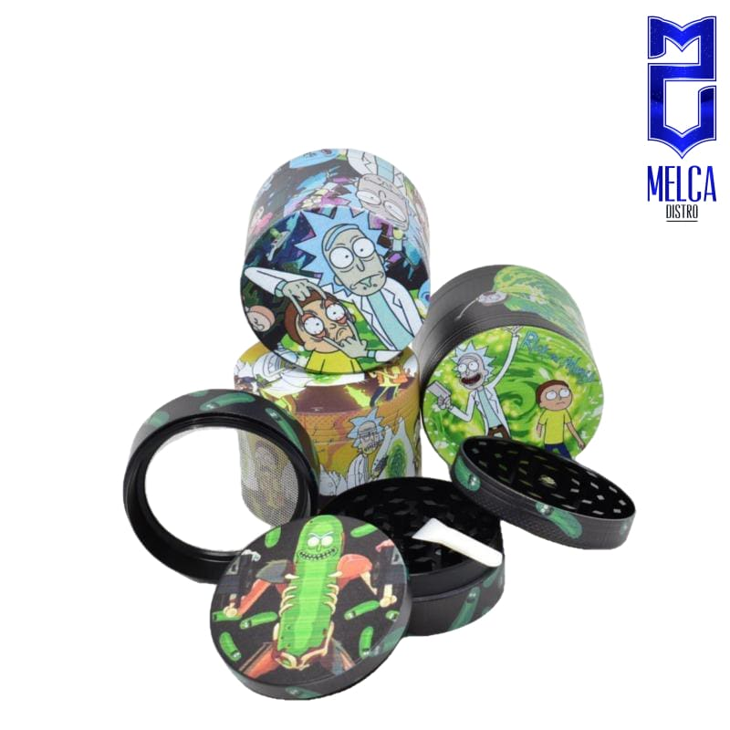Grinder Rick & Morty Mix Colors 6-Pack AD-H089 - GRINDERS