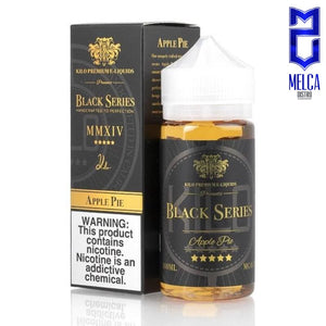 Kilo Black Series Apple Pie 100ml - E-Liquids