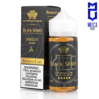 Kilo Black Series Birthday Cake 100ml - E-Liquids