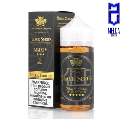 Kilo Black Series Milk & Cookies 100ml - E-Liquids