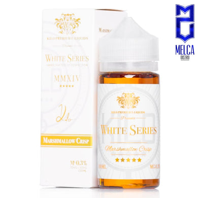 Kilo White Series Marshmallow Crisp 100ml - E-Liquids