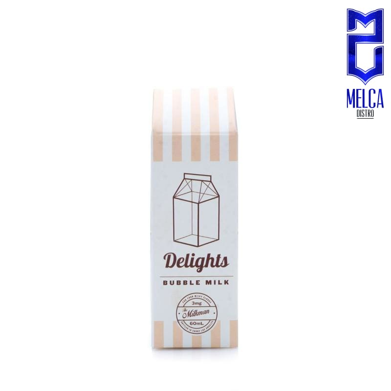 Milkman Delights Bubble Milk 60ml - E-Liquids