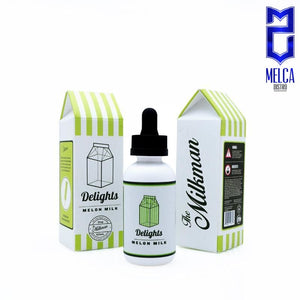 Milkman Delights Melon Milk 60ml - E-Liquids